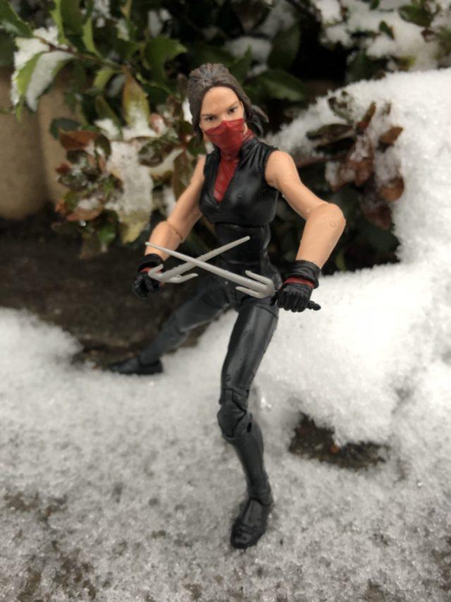 Elektra Marvel Legends Man-Thing Series Figure Review