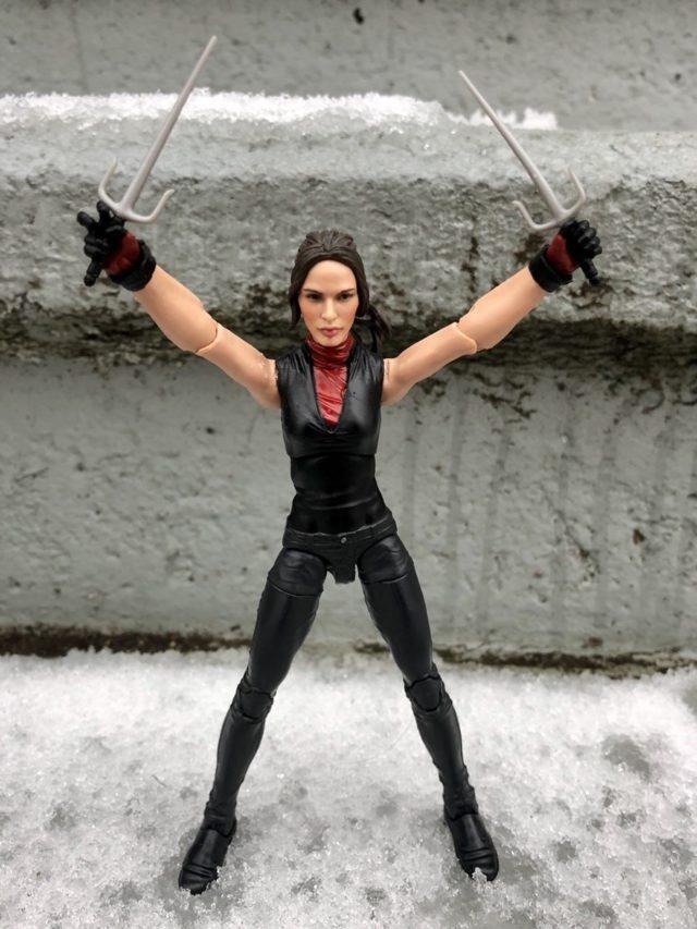 Marvel Knights Marvel Legends Elektra Figure Front View