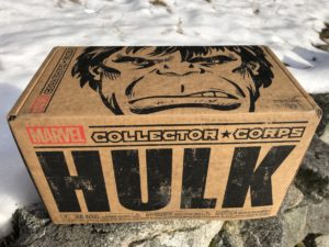 Marvel Collector Corps Hulk Box Review Spoilers Unboxing Photos
