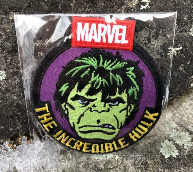 Marvel Collector Corps Hulk Patch December 2017