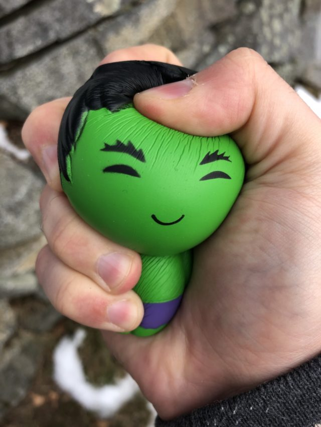Collector Corps Hulk Stress Ball Figure Squeezed