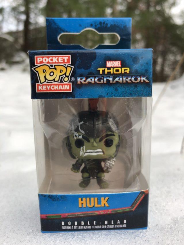 Funko Gladiator Hulk Pocket POP Keychain Collector Corps