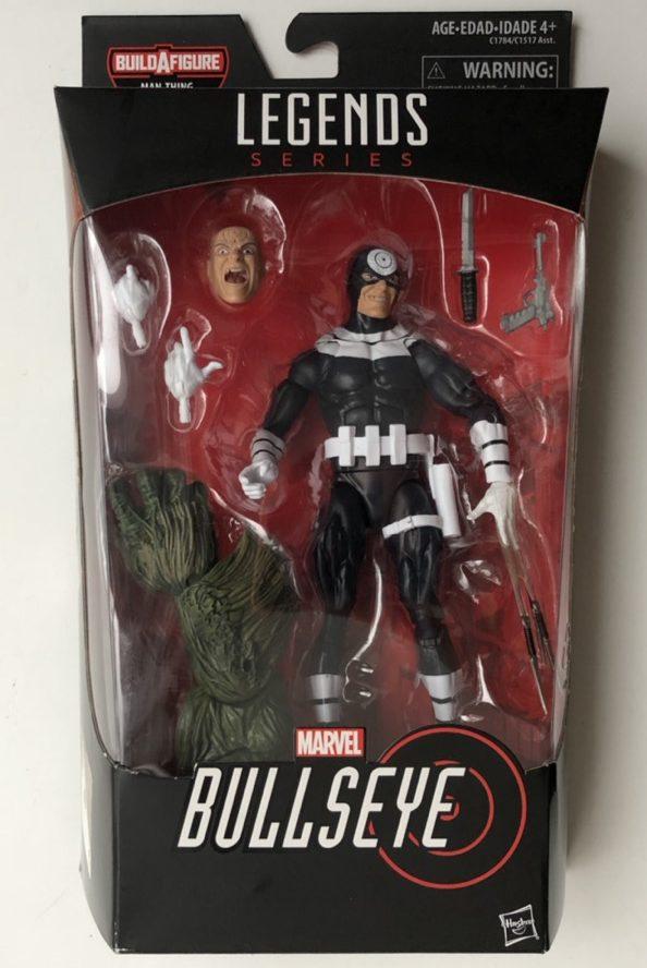 Marvel Legends Bullseye Figure Packaged Hasbro