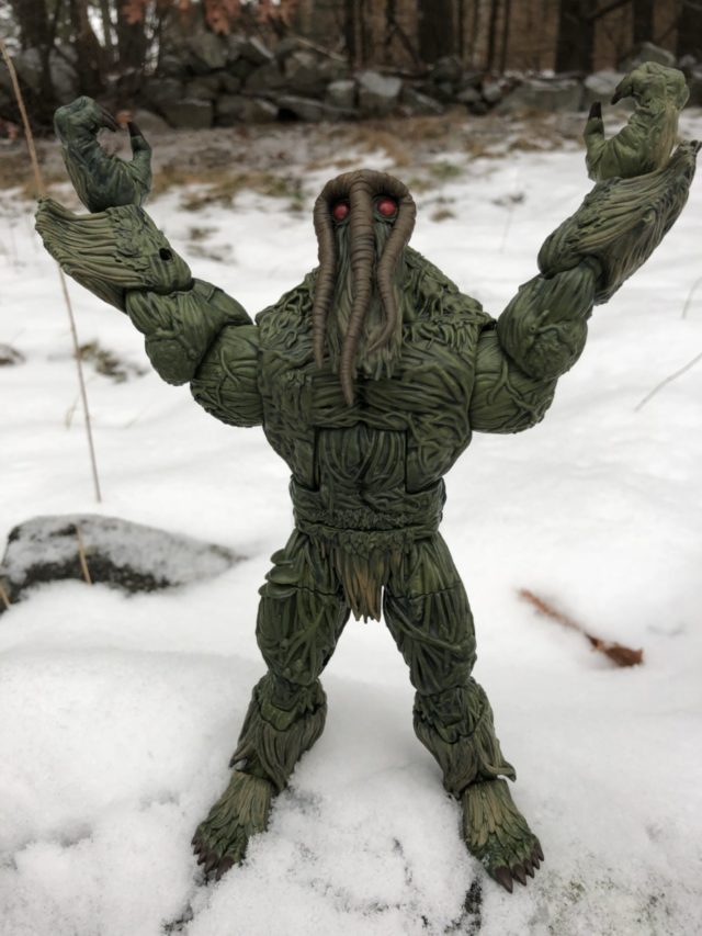 Hasbro Man-Thing Marvel Knight Legends Build A Figure