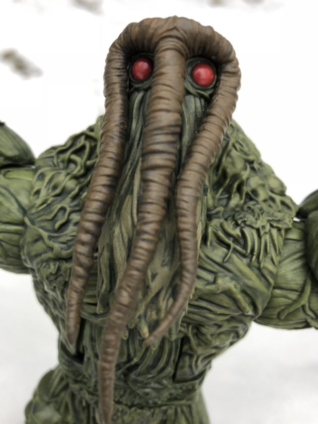 Close-Up of Marvel Legends Man-Thing Head Hasbro