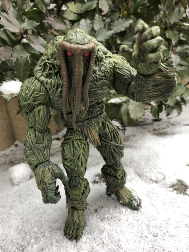 Man-Thing Marvel Legends 2017 Build A Figure Review