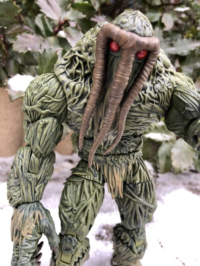 Man-Thing Marvel Legends Build-A-Figure Review
