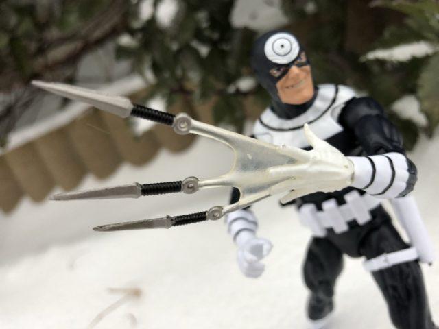 Marvel Legends Bullseye Knife Throwing Effects Piece