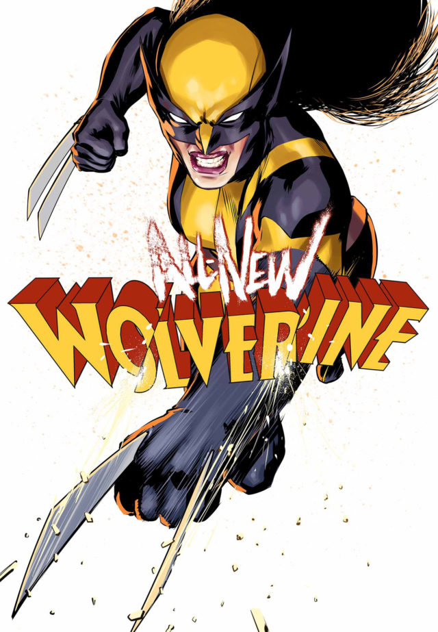 All-New Wolverine Cover X-23