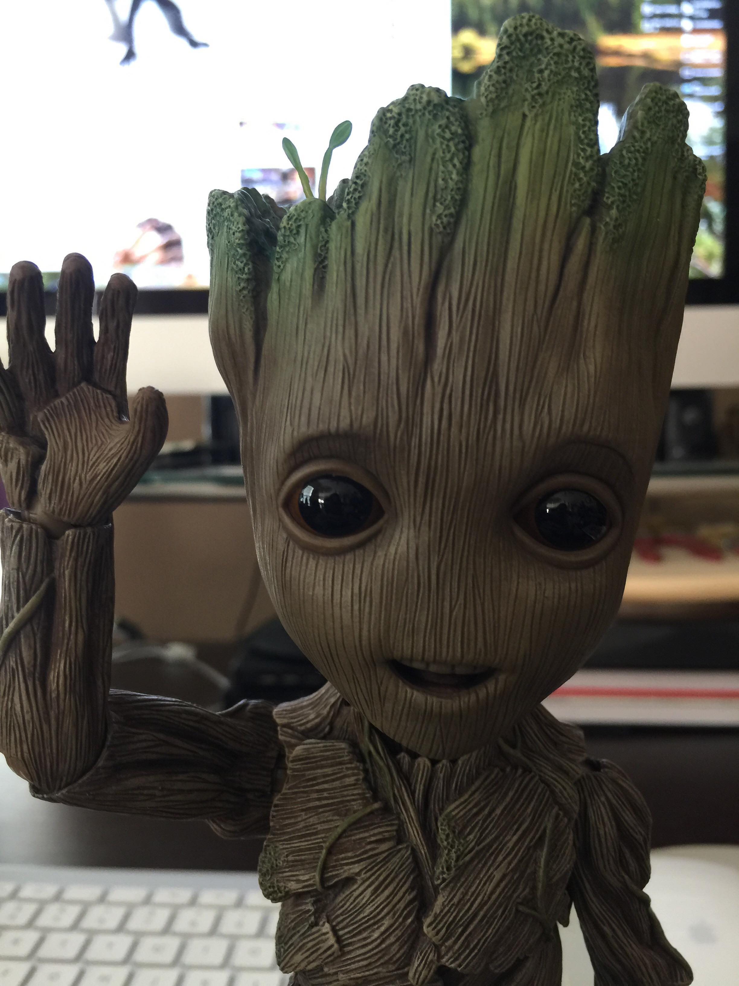 Hot Toys Life Size Baby Groot Figure Review Amp Photos