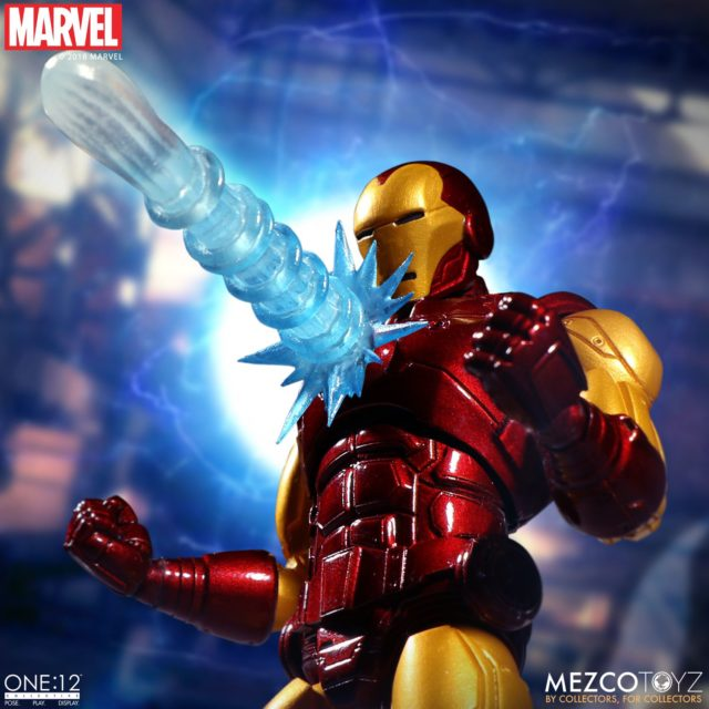Chest Blast Effects Piece on Marvel ONE 12 Collective Iron Man 6 Inch Figure