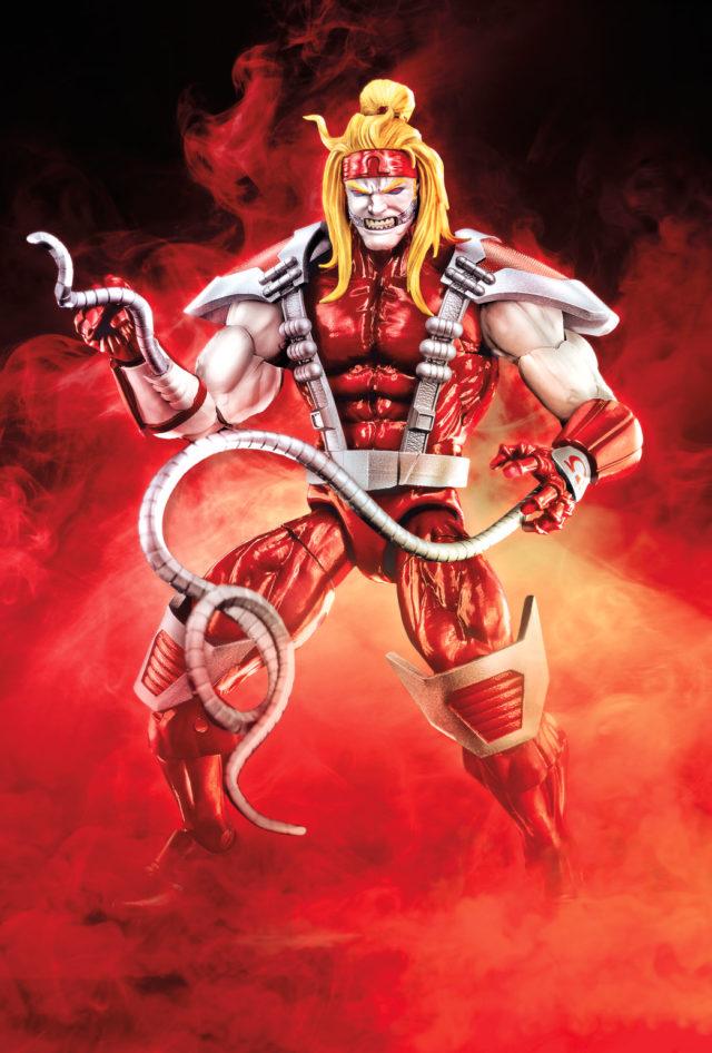 Deadpool Marvel Legends Omega Red Figure Hasbro 2018