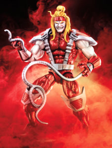Deadpool Marvel Legends Omega Red Figure Hasbro 2018