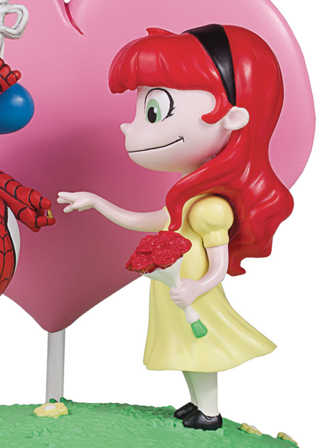Gentle Giant Skottie Young Marvel Babies Mary Jane Spider-Man Statue