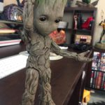 Hot Toys Life Size Baby Groot Figure Review & Photos