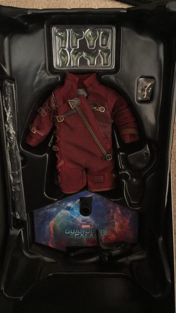 Hot Toys Baby Groot Ravagers Costume In Box