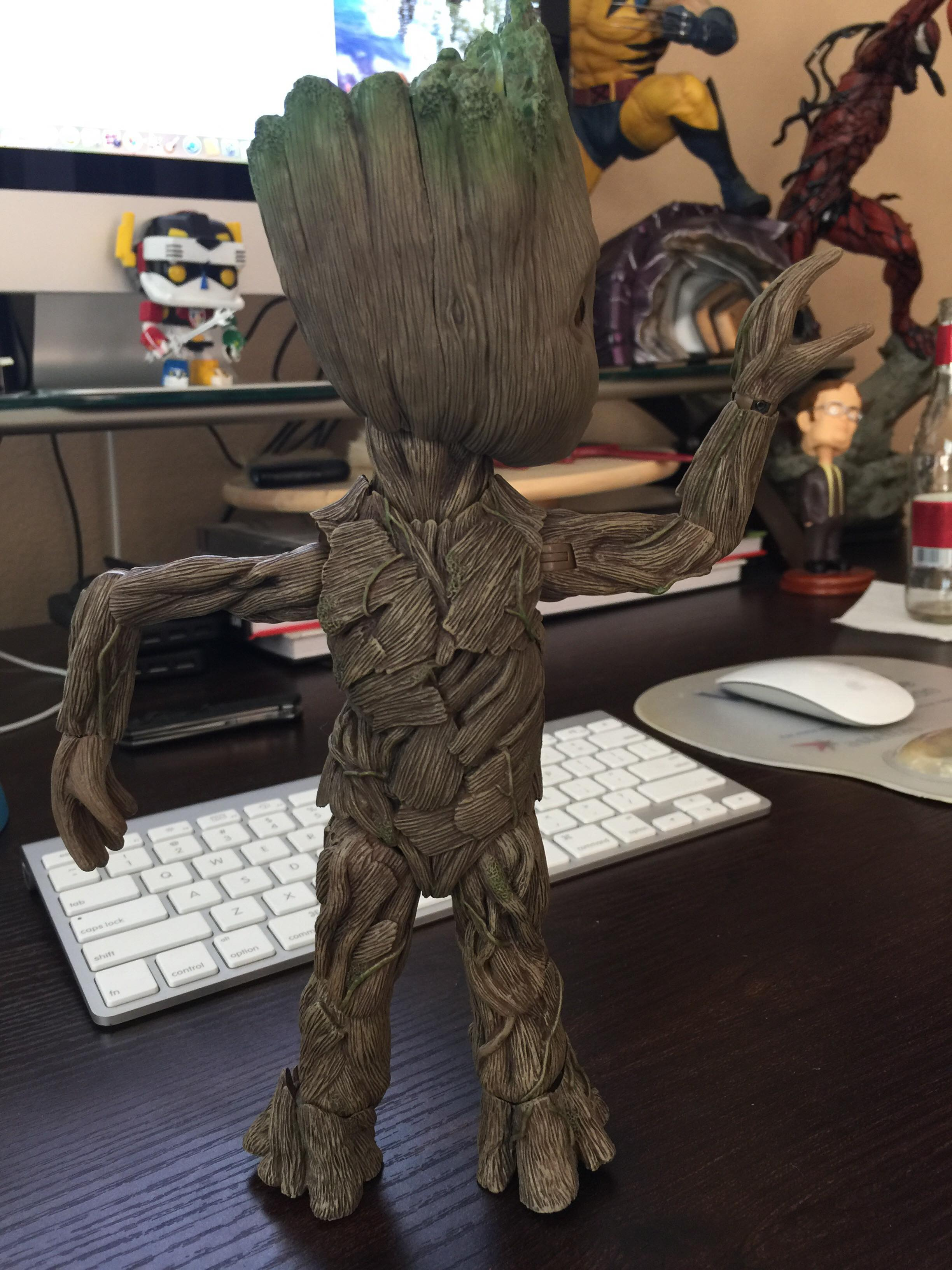 Hot Toys Life Size Baby Groot Figure Review Amp Photos Marvel Toy News