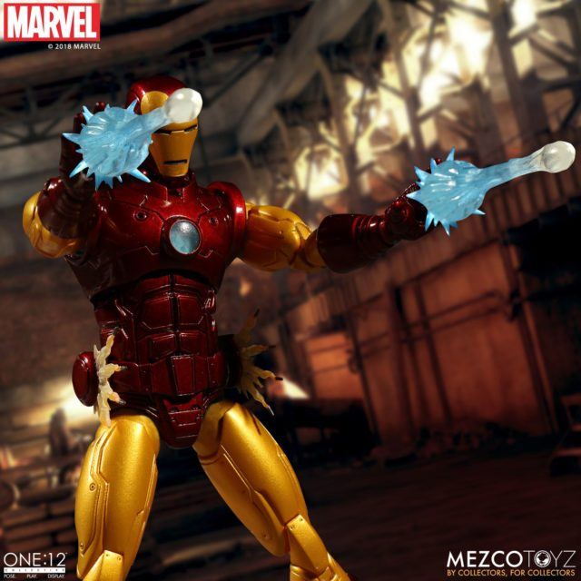 Iron Man ONE12 Collective Figure Firing Effects Piece Blasts