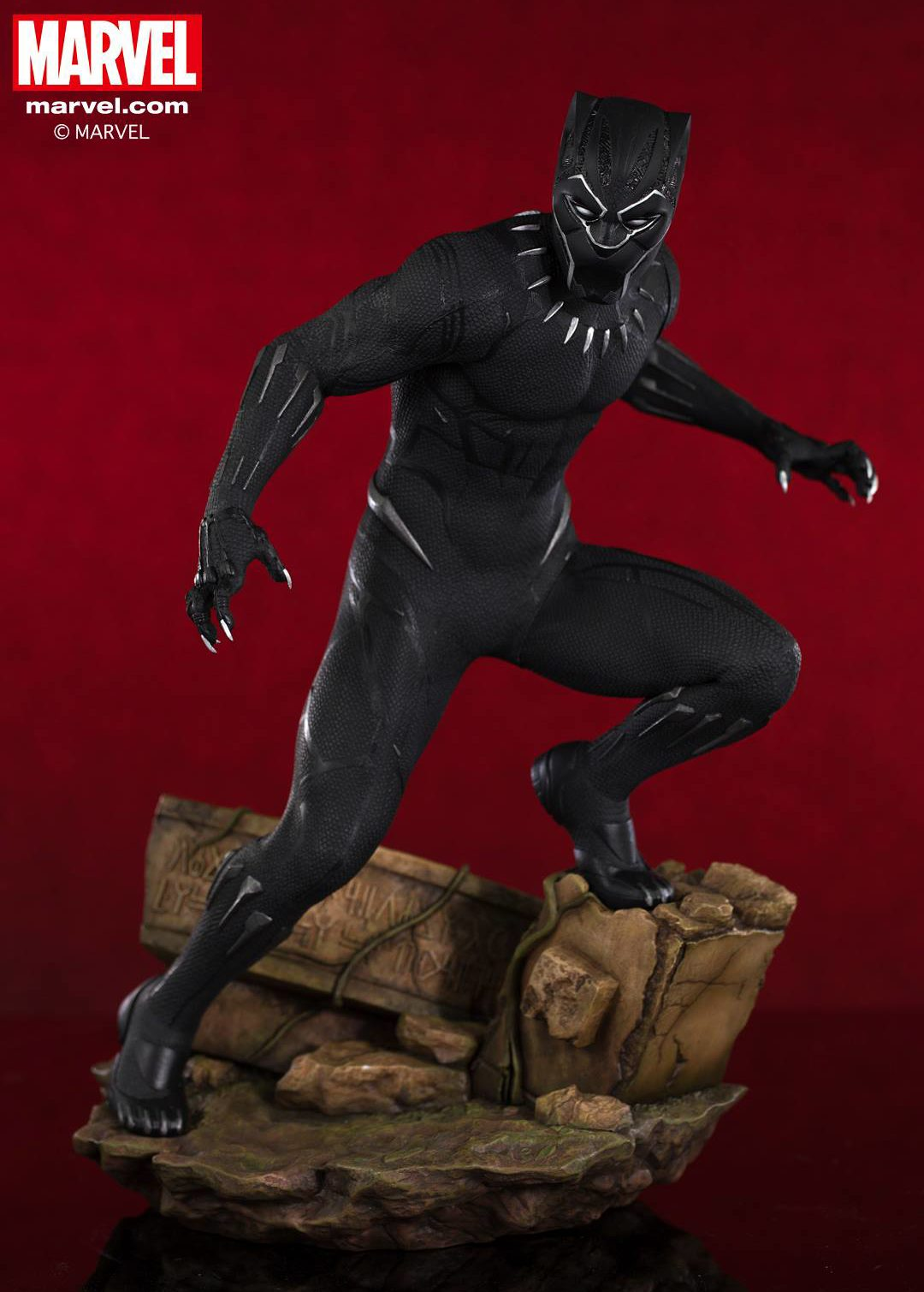 MARVEL PREMIERE BLACK PANTHER MOVIE STATUE ~ NEW IN BOX