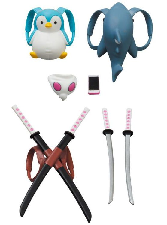 MAFEX Gwenpool Accessories