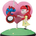 Skottie Young Marvel Animated Spider-Man & Mary Jane Statue!