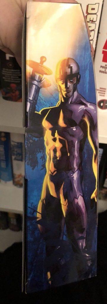 Marvel Legends Black Panther Klaw Box Art