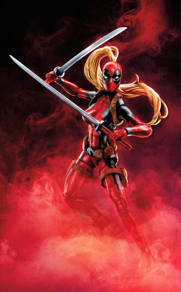 Marvel Legends Lady Deadpool Figure