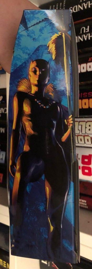 Marvel Legends Shuri Box Art