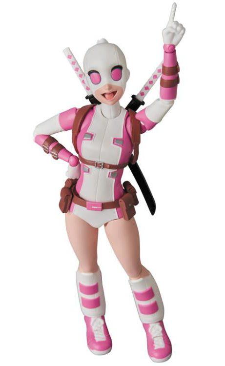 Medicom MAFEX Marvel Gwenpool Figure Pointing