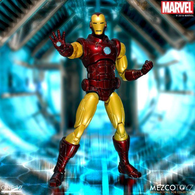 Mezco Iron Man ONE 12 Collective Figure
