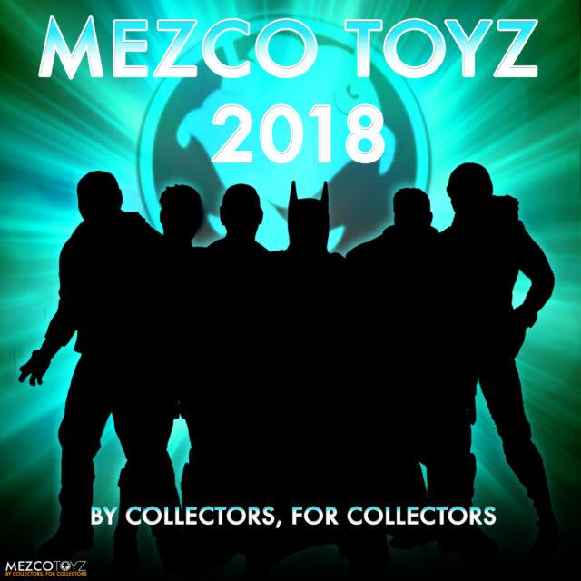 Mezco Toy Fair 2018 ONE 12 Collective Figures Teaser Photo