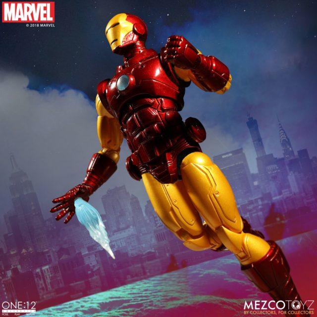 Mezco Toyz ONE 12 Collective Iron Man Action Figure