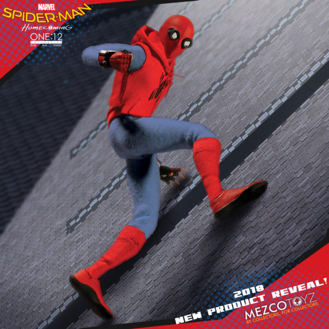Mezcon ONE 12 Collective Homemade Suit Spider-Man Figure Revealed