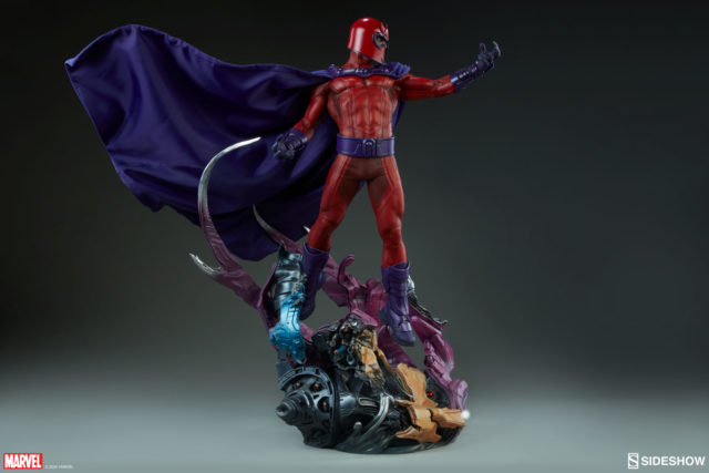 Side View of Magneto Sideshow Maquette