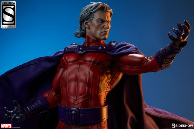 Sideshow Collectibles Magneto Exclusive Edition Head without Helmet