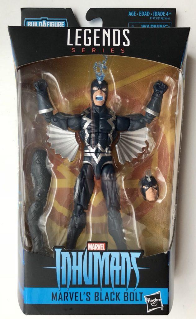 Black Bolt Marvel Legends Inhumans Figure Box