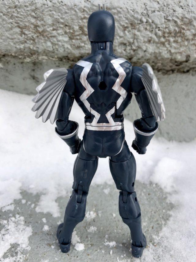 Back of Marvel Legends Black Bolt 2018 Figure