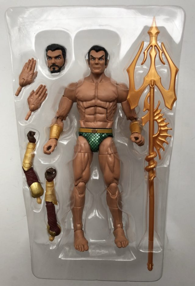 2018 ML Namor Figure and Accessories