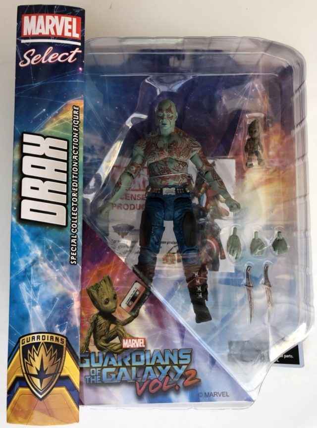 Packaged Drax Marvel Select Movie Figure