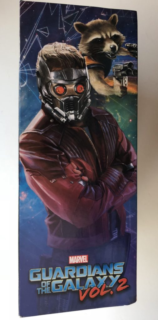 Box Side DST Rocket Raccoon Star-Lord Two Pack