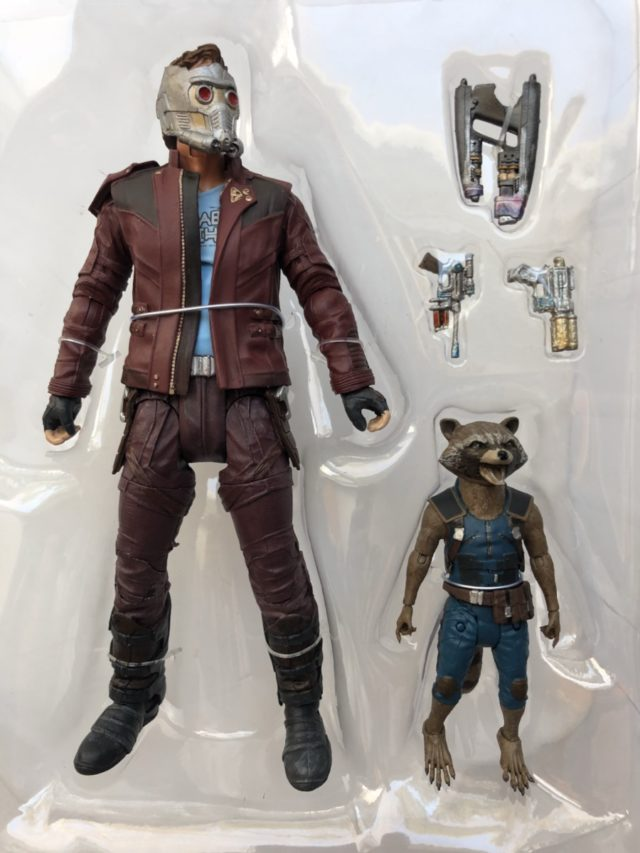 Star-Lord and Rocket Raccoon Marvel Select Two-Pack
