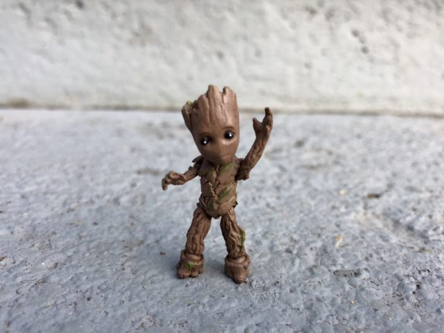 Marvel Select Groot Figure Articulation GOTG 2 Movie
