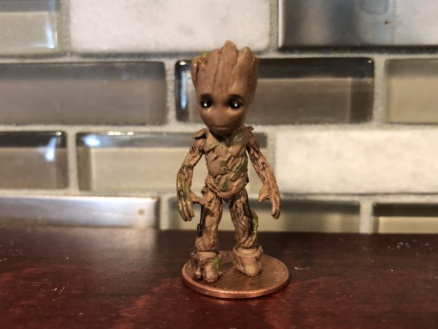 Size Comparison Marvel Select Baby Groot and Penny