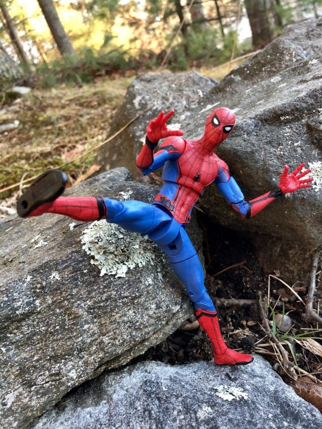 Spider-Man Homecoming Diamond Select Toys Figure Review