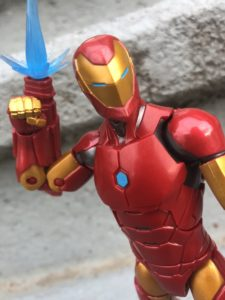Close-Up of Invincible Iron Man Marvel Legends 2018 Figure