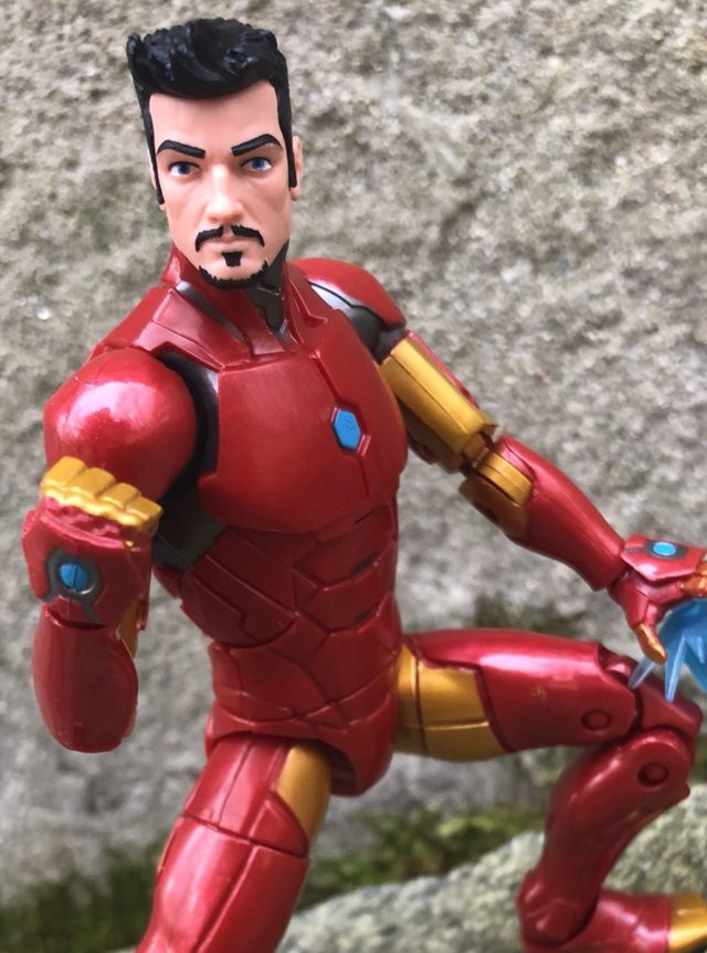 Marvel Legends Tony Stark Head Invincible Iron Man Figure