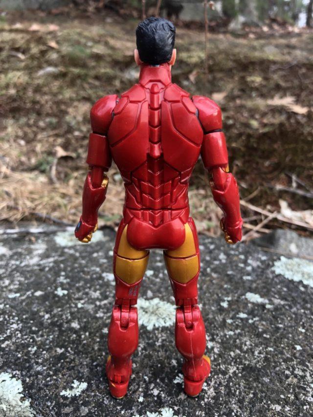 "Back of Hasbro Invincible Iron Man 6"" Figure"