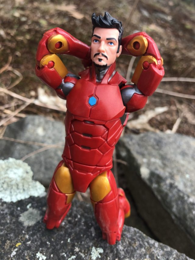 Review Marvel Legends Invincible Iron Man Six Inch Figure