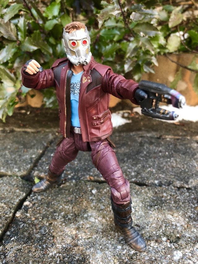 Marvel Select Star-Lord Movie Figure Articulation