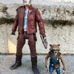 Marvel Select Star-Lord & Rocket Raccoon Figures Review